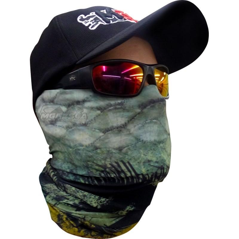 Máscara de Proteção Solar com Filtro UV Monster 3X - Série DATENA  - MGPesca