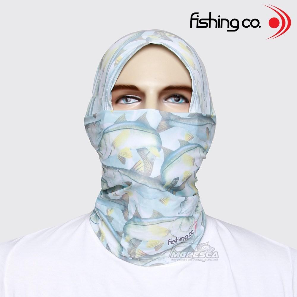 Máscara de Proteção Solar Fishing Co. Bandana Estampada - 1047  - MGPesca