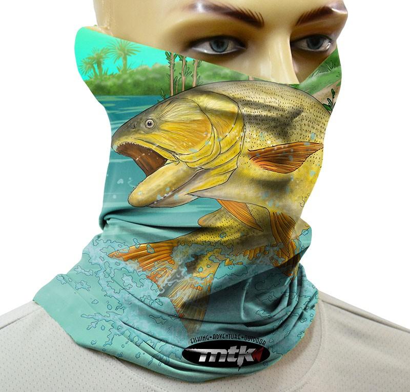 Máscara de Proteção Solar MTK Pipe - 04 estampas  - MGPesca