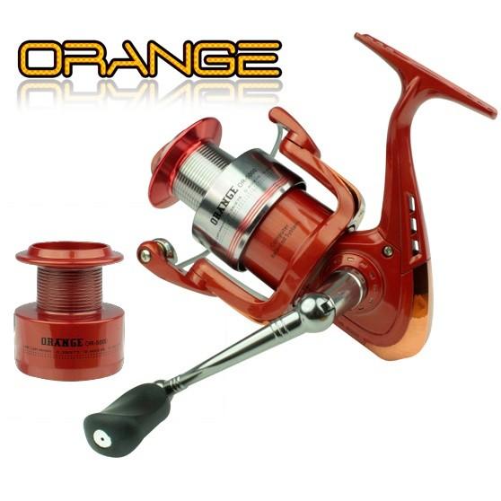 Molinete  Sumax Orange OR-5000 carretel de alumínio  - MGPesca
