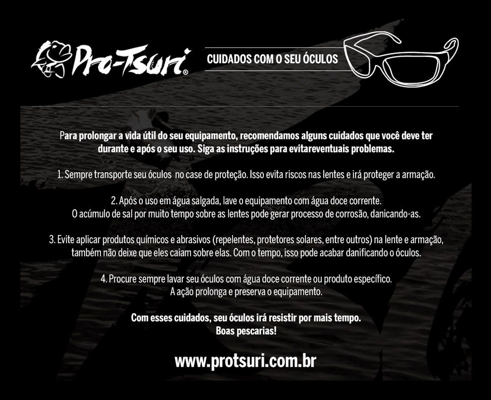 Óculos Polarizado Pro-Tsuri IRON  - MGPesca