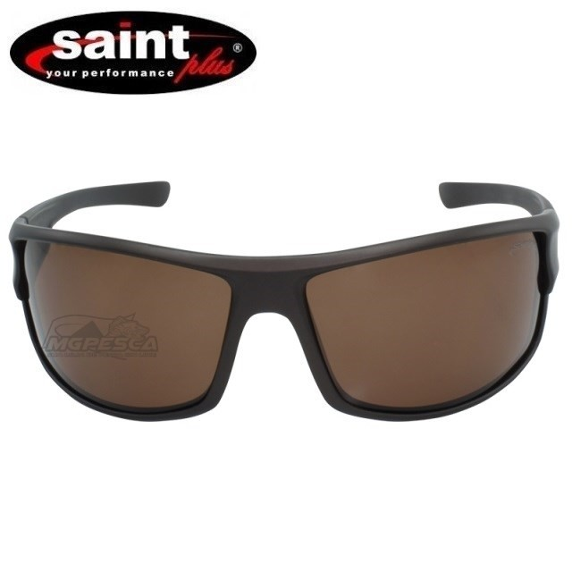Óculos Saint Plus Polarizado - Matte Brown  - MGPesca