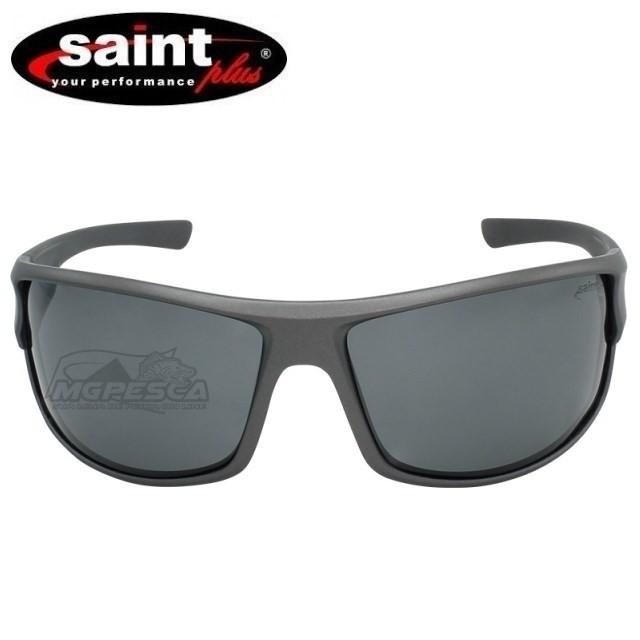 Óculos Saint Plus Polarizado - Matte Grey  - MGPesca