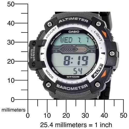 Relógio Casio OutGear SGW-300H-1AVDR com Barômetro e Altímetro  - MGPesca