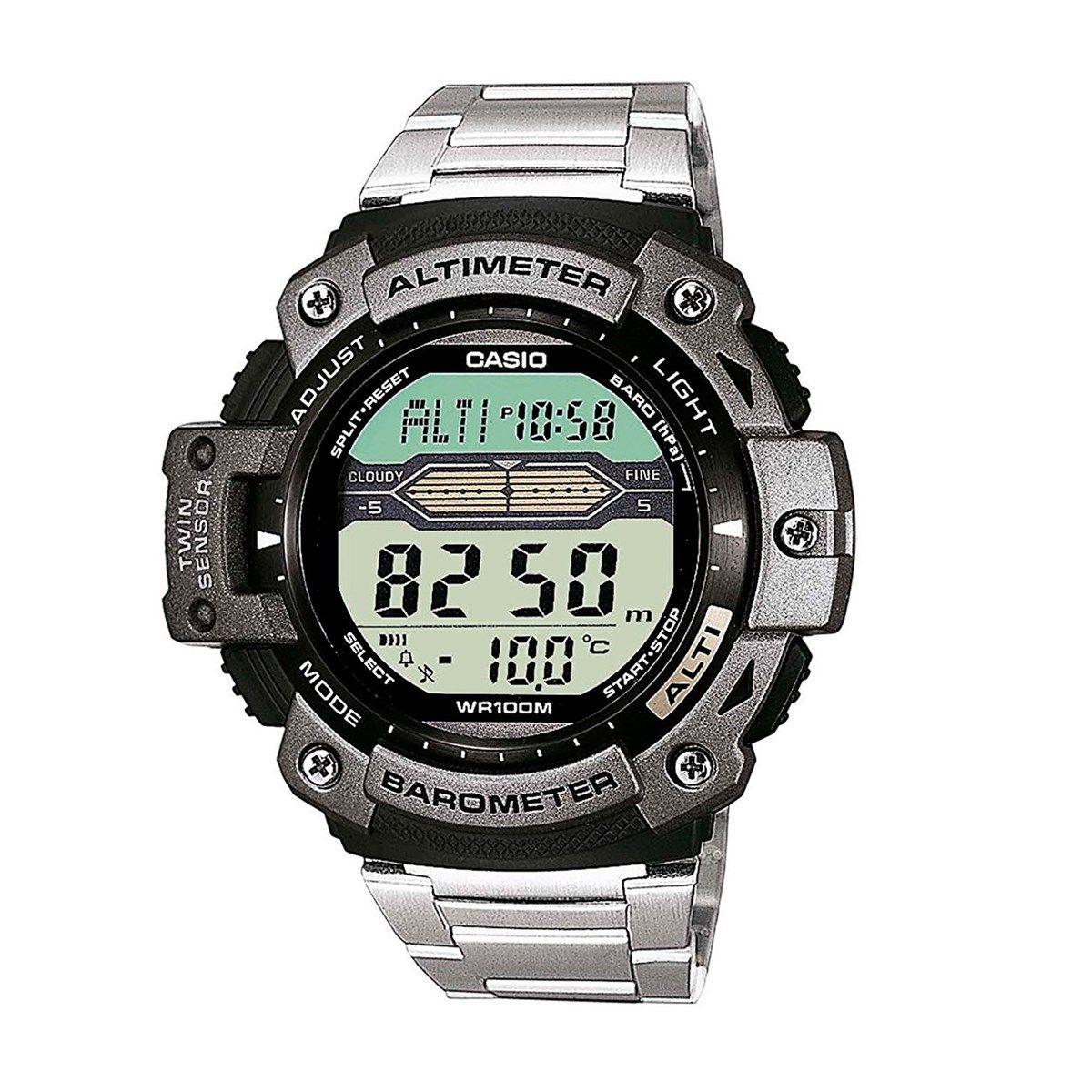 Relógio Casio OutGear SGW-300HD-1AVDR com Barômetro e Altímetro  - MGPesca