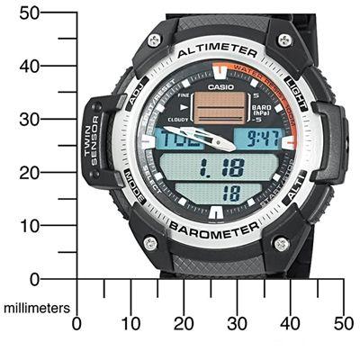Relógio Casio OutGear SGW-400H com Barômetro e Altímetro  - MGPesca