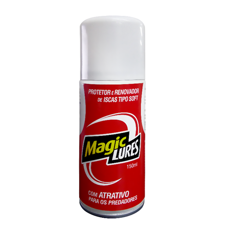 Renovador de Iscas Soft Monster 3X Spray Magic Lures  - MGPesca