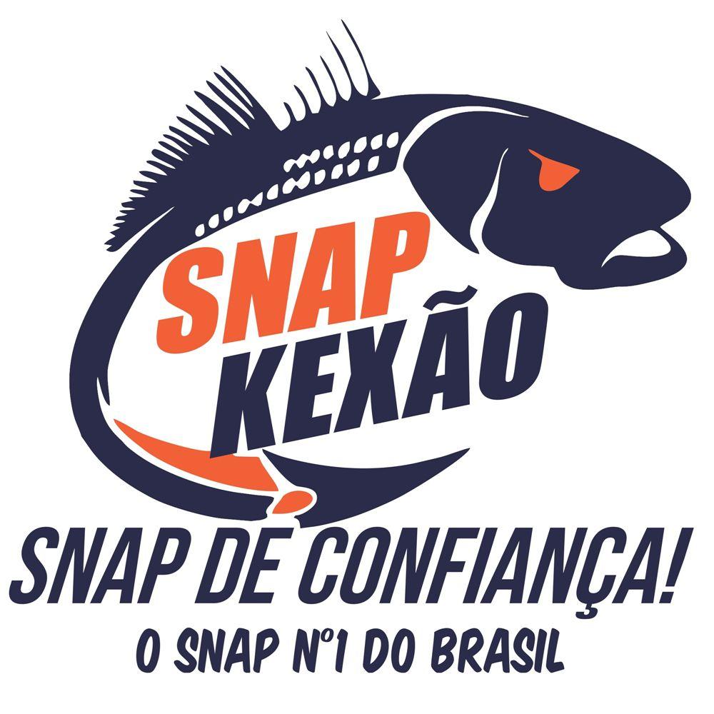 Snap Artesanal Kexão 35 Lbs - Pacote com 10 unidades  - MGPesca