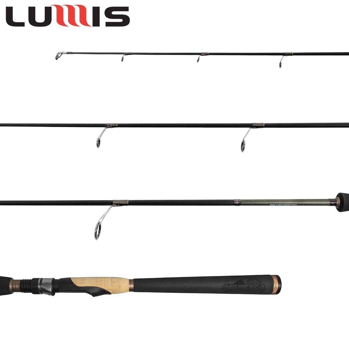 "Vara para molinete Lumis Virotty 6"" (1,83m) 16 lbs VRS60161M  - MGPesca"