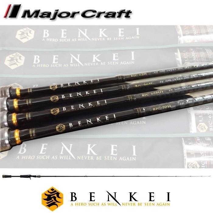 Vara para carretilha Major Craft Benkei 6