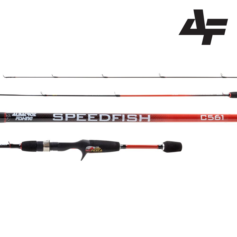 "Vara para carretilha Albatroz SpeedFish 5"" (1,50m) 6 Lbs - C501  - MGPesca"