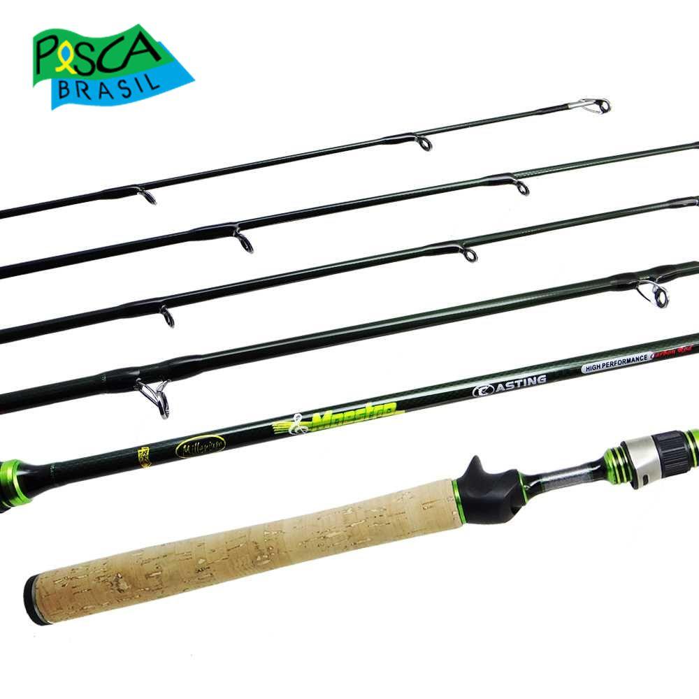 Vara para carretilha Pesca Brasil Millenium New Maestro 14C 5