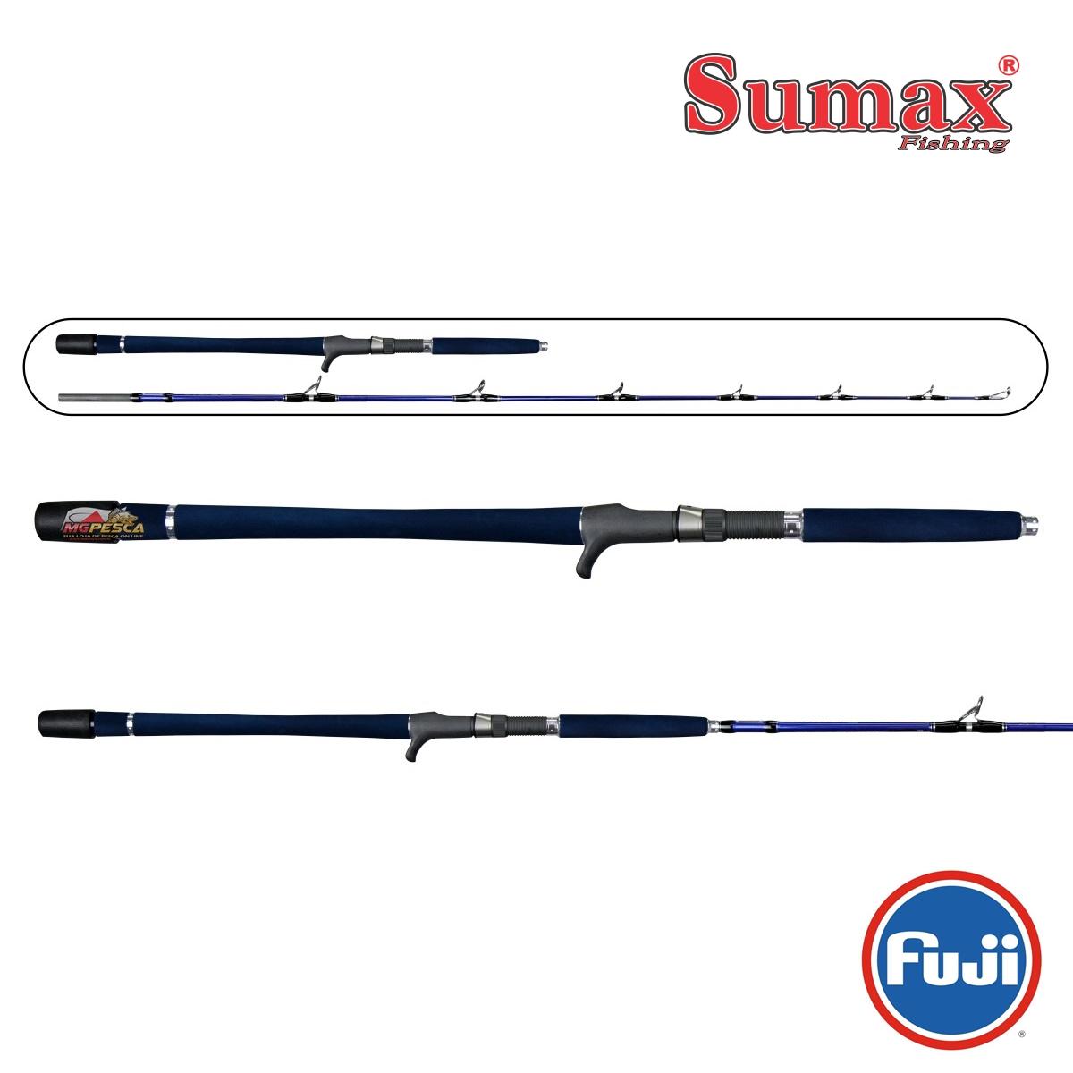Vara para carretilha Sumax New Tubarão 5'8