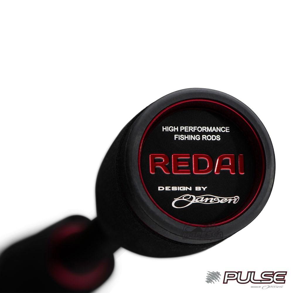 Vara para carretilha Redai Pulse 6