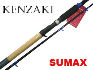 Vara para carretilha Sumax Kenzaki 40 Lbs - LKN3002 - 3,00m - 02 partes  - MGPesca
