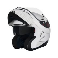 Capacete MT Optimus SV Solid White Escamoteável