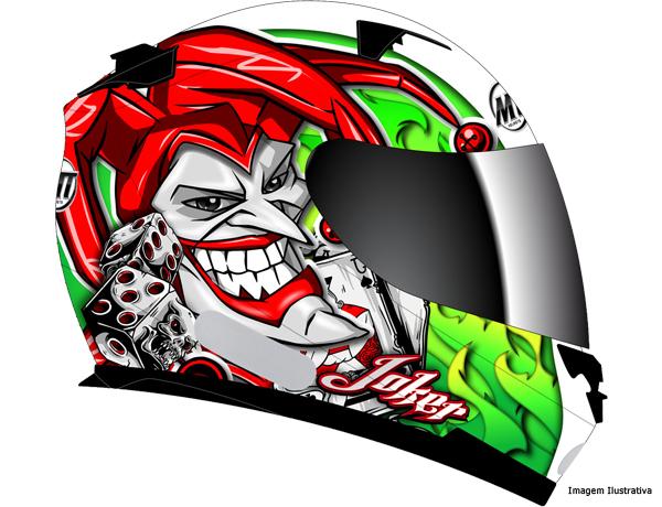 Capacete Mt Blade Joker New Green