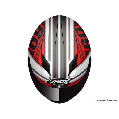 Capacete Shox Indi Red