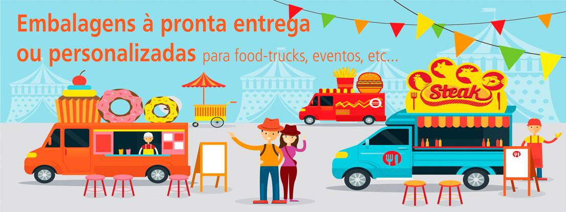 Conheça nossa variedade de embalagens para fast e food-truck