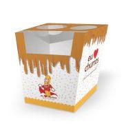 Box | Embalagem para Churros Espanhol - 500 unidades