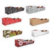 Caixa | Embalagem de Espetinho c/ Molho VÁRIAS CORES - 100 Unidades