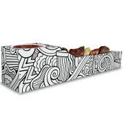 Caixa | Embalagem de Espetinho c/ Molho - Várias Cores - 500 Unidades