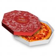 Caixa | Embalagem de Pizza Oitavada Delivery 35cm - 25 unidades