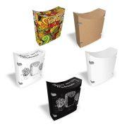 Caixa | Embalagem para Batata Frita Delivery VÁRIAS CORES