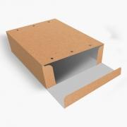 Caixa  Embalagem para Delivery 4 Churros KRAFT - 100 unidades