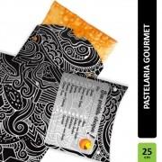 Caixa | Embalagem para Pastel Delivery PRETO - 300 unidades