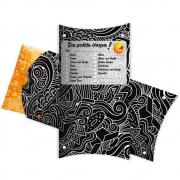 Caixa | Embalagem para Pastel Delivery PRETO 31cm - 100 unidades