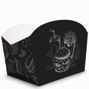 Caixa | Embalagem para Porções e Batata Frita - Várias Cores - 100 Unidades