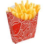 Caixinha | Embalagem para Batata Frita - Várias Cores - 500 Unidades