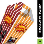 Delivery | Caixa de Pipoca para Viagem Grande VÁRIAS CORES - 100 unidades