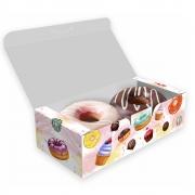 Delivery   Caixa para 2 Donuts, Doces e Rosquinhas - 100 unidades