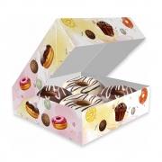 Delivery | Caixa para 4 Donuts, Doces e Rosquinhas - 100 unidades