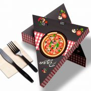 Delivery | Embalagem de Fatia de Pizza para Viagem XADREZ – 100 unidades