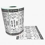 Etiqueta | Lacre de Segurança Para Delivery Saco Kraft E Caixa