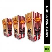 KIT | Embalagem para Pipoca PETS (P,M,G)