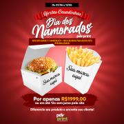 KIT | Embalagens de Hambúrguer e Batata Frita Personalizadas