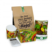 KIT Embalagens Hamburgueria Completo VERDE