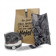 KIT Embalagens Pastelaria Delivery PRETO