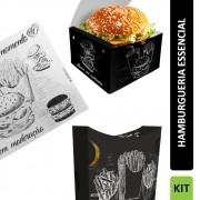 KIT Hamburgueria Delivery Essencial