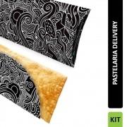 KIT Pastelaria Delivery PRETO 300 unidades