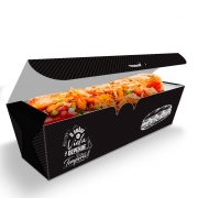 OFERTA | 100 Caixa Hot Dog Delivery 25cm + 100 Caixa Hot Dog Delivery 30cm