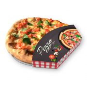 Suporte | Embalagem para Mini Pizza Brotinho XADREZ – 100 unidades