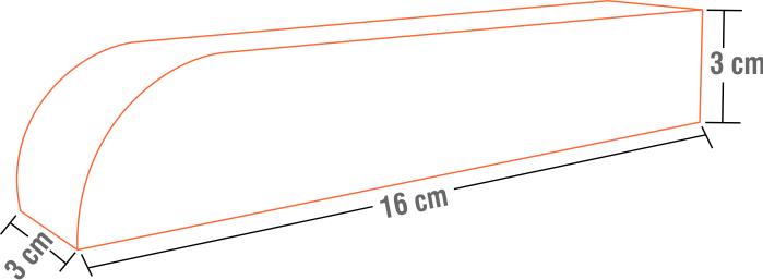 Embalagem para Churros Listrada  - 100 unidades