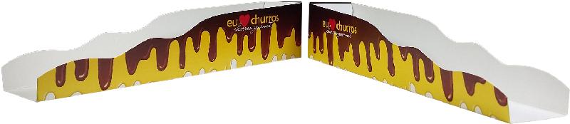 Embalagem para Churros Gourmet Marrom  - 100 unidades