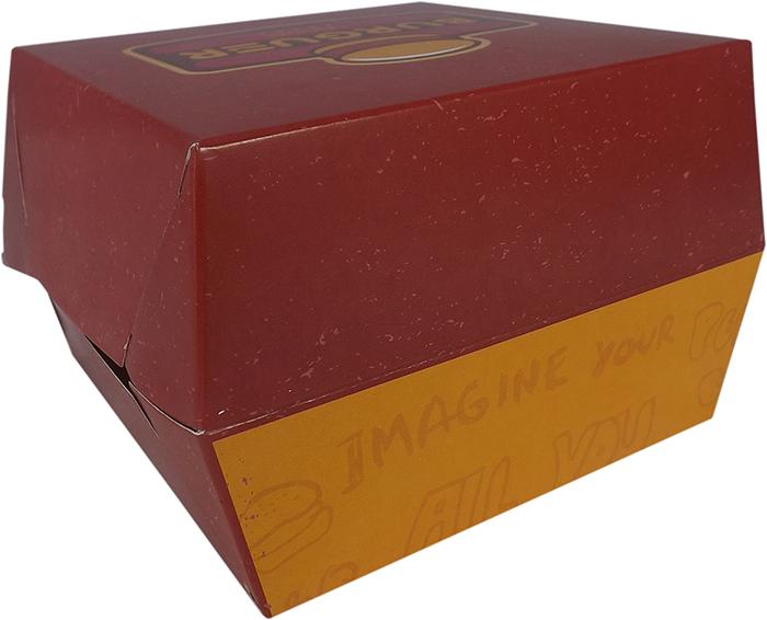 Caixinha Embalagem para Hamburguer 1000 unidades