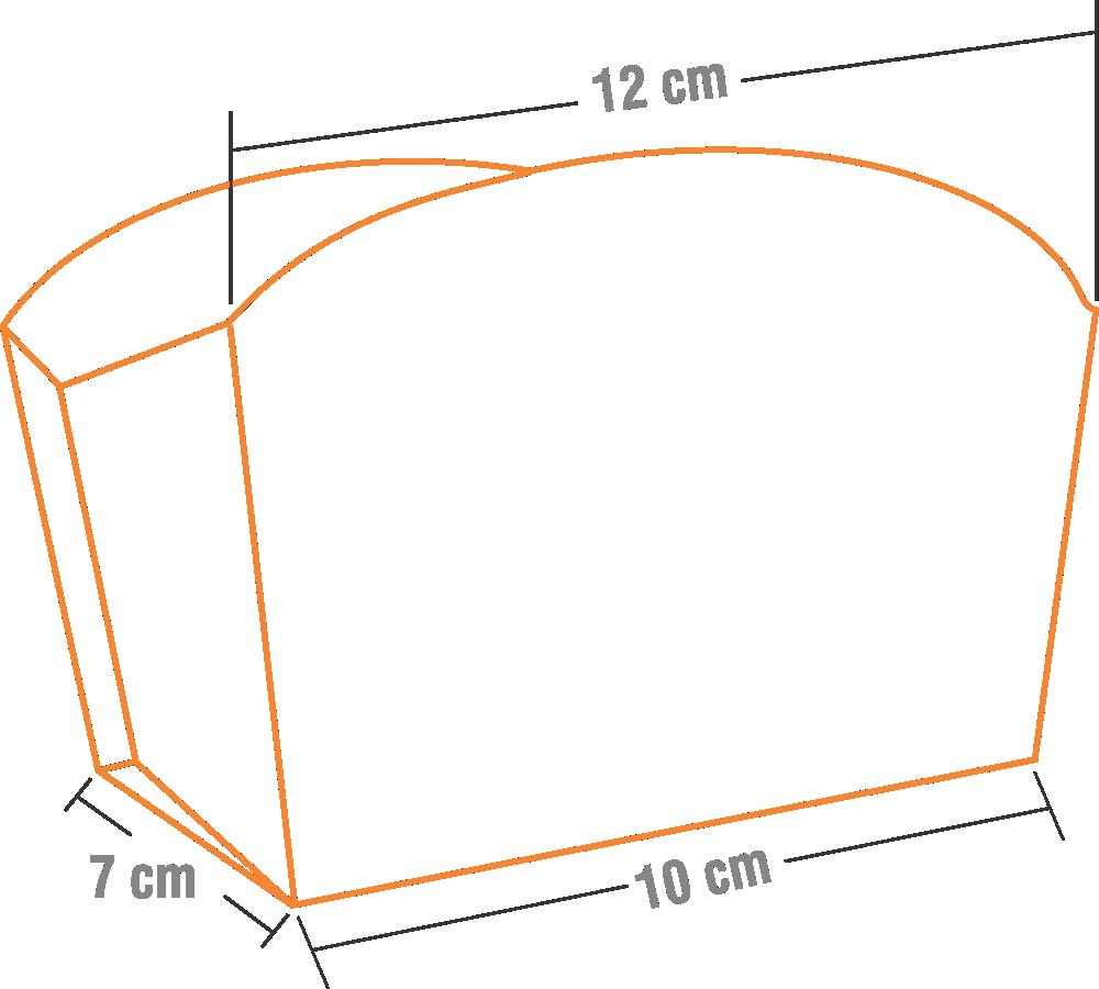 Embalagem para Batata-Frita ou Porções Diversas - 500 unidades
